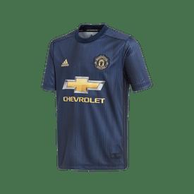 Jersey-Adidas-Futbol-FC-Manchester-United-Tercero-18-19-Niño