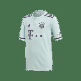 Jersey-Adidas-Futbol-Bayern-Munich-Visita-Fan-18---19-Niño