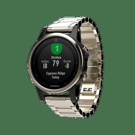 Monitor-GPS-Garmin-Multideporte-fenix-5-Cristal-Mineral