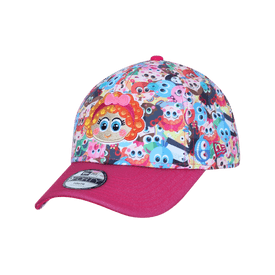 Gorra-New-Era-Casual-9FORTY-Distroller-Chamoy-Glitter-Niña