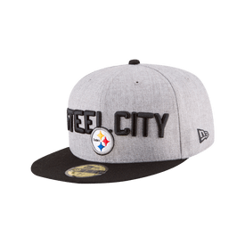 Gorra-New-Era-NFL-59FIFTY-Pittsburgh-Steelers-Draft