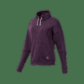 Sudadera-Reebok-Fitness-Essentials-Marble-Cowl-Neck-Sweatshirt-Mujer
