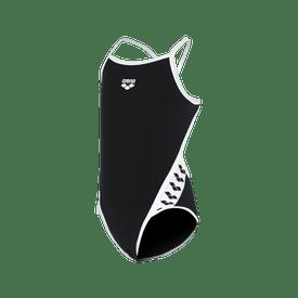 Traje-de-Baño-Arena-Natacion-Team-Stripe-Niña