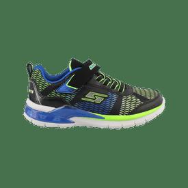 Zapato-Skechers-Casual-Lights-Erupters-II-Lava-Waves-Niño
