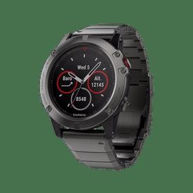Monitor-GPS-Garmin-Multideporte-fenix-5-Cristal-Zafiro-Acero