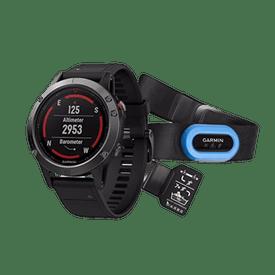 Kit-Monitor-GPS-Garmin-Correr-fenix-5-Cristal-Mineral