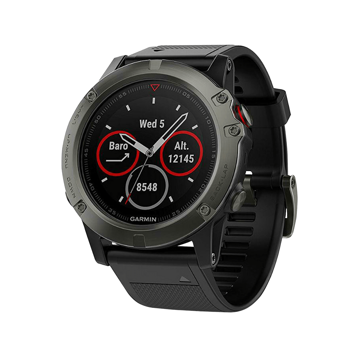 deed31e6860d Monitor GPS Garmin Multideporte fénix 5X Zafiro - martimx