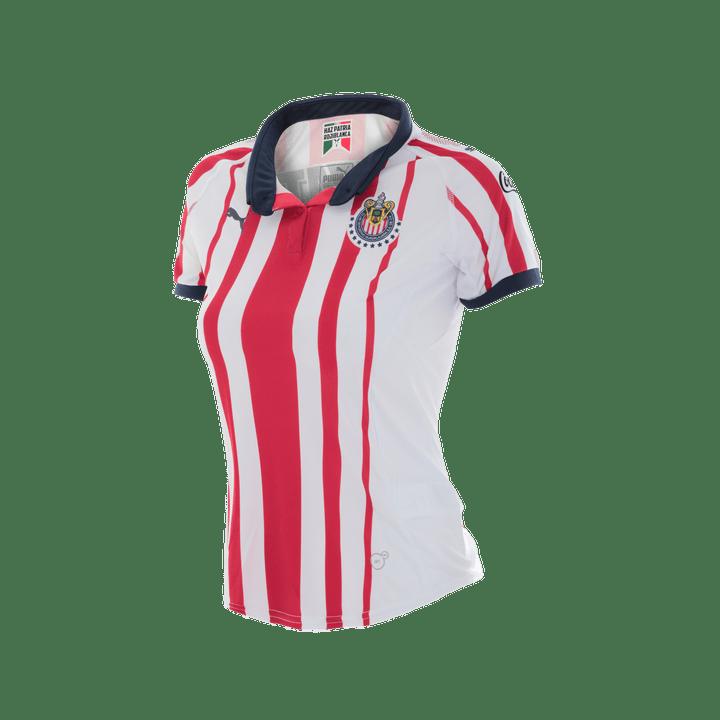96bd5fddc0f Jersey Puma Futbol Chivas Local Fan 18/19 Mujer - martimx| Martí ...