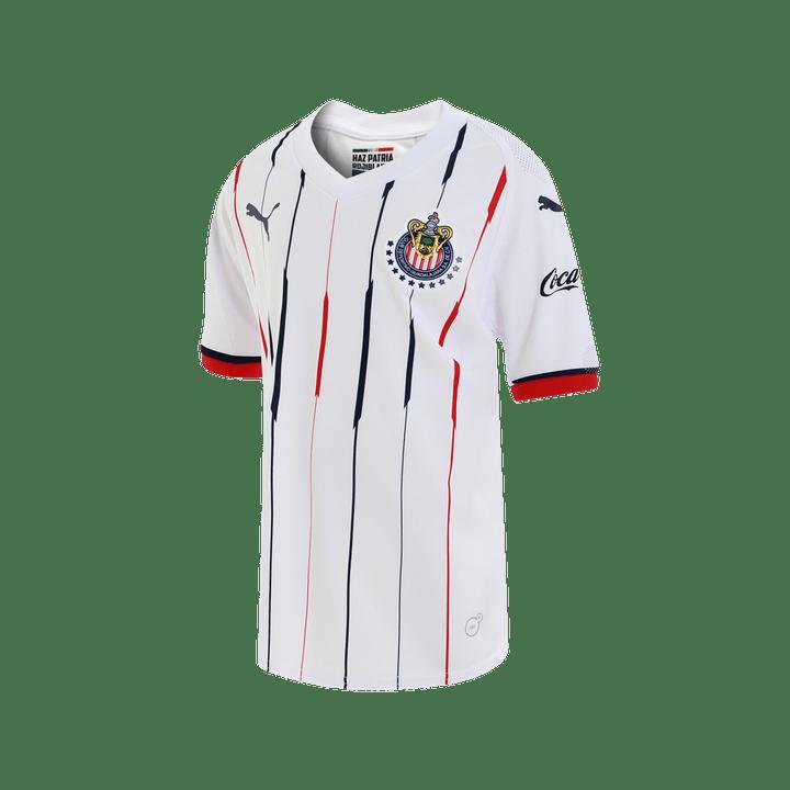 7051f5075 Jersey Puma Futbol Chivas Visita Fan 18 19 Niño - martimx
