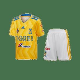 Conjunto-Deportivo-Adidas-Futbol-Tigres-Local-Fan-18-19-Niño