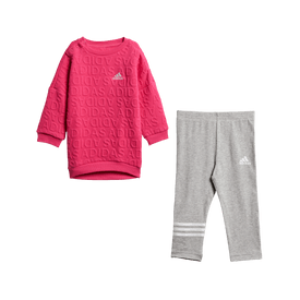 Conjunto-Deportivo-Adidas-Casual-I-Sweat-Dress-Bebe