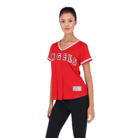 Jersey-Beisbol-Majestic-Angels-de-Los-Angeles-Mujer