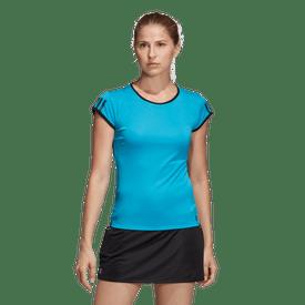 Playera-Adidas-Tenis-3-Stripes-Club-Mujer