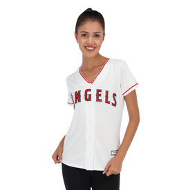 Jersey-Majestic-MLB-Angels-de-Los-Angeles-Mujer