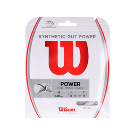 Cuerda-Wilson-Tenis-Synthetic-Gut-Power