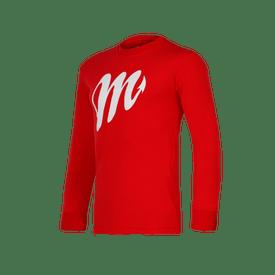 Playera-LMB-Diablos-Rojos-del-Mexico-Logo