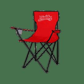 Silla-Camping-LMB-Diablos-Rojos-del-Mexico-Logo