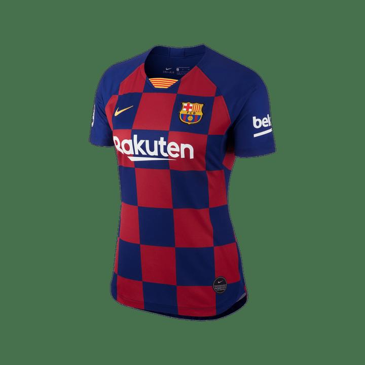 differently 0d6d1 5b62e Jersey Nike Futbol FC Barcelona 19/20 Local Fan Mujer ...