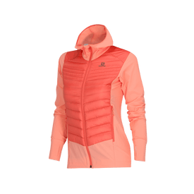 Chamarra-Salomon-Correr-Haloes-Down-Hybrid-Hoodie-Mujer
