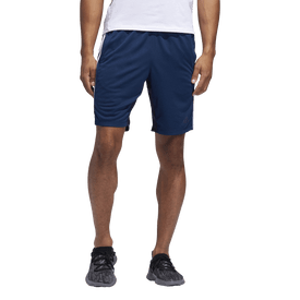 Short-Adidas-Fitness-4KRFT-Sport-Heather-3-Stripes