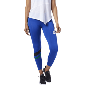 Capri-Reebok-Fitness-Workout-Ready-Big-Logo-Mujer