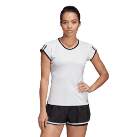 Playera-Adidas-Tenis-3-Stripes-Club-Mujer