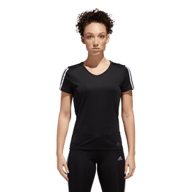 Playera-Adidas-Correr-Run-It-3-Stripes-Mujer