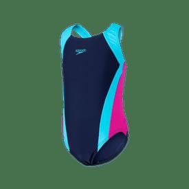 Traje-de-Baño-Speedo-Natacion-Contrast-Panel-Splashback-Niña