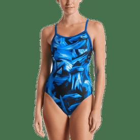 Traje-De-Baño-Racerback-D-Nike-Swim-Azul-Rey
