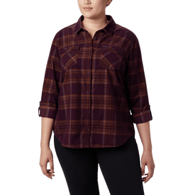 Camisa-Columbia-Campismo-Times-Two-Corduroy-Mujer