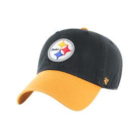 Gorra-47-NFL-Pitssburgh-Steelers-Clean-Up-Two-Tone