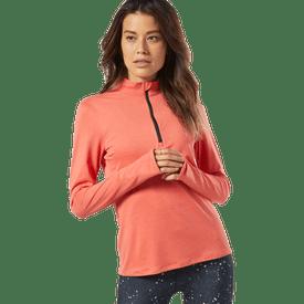 Sudadera-Reebok-Correr-Essentials-Quarter-Zip-Mujer