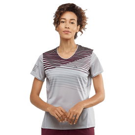Playera-Salomon-Correr-LC1272900-Gris