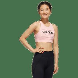 Sujetador-Deportivo-Adidas-Fitness-FL0219-Rosa