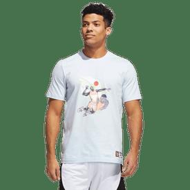 Playera-Adidas-Basquetbol-GE4117-Azul