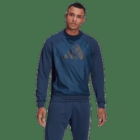 Sudadera-Adidas-Fitness-GM6490-Azul