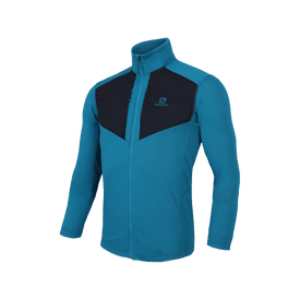 Sudadera-Salomon-Correr-LC1294100-Azul