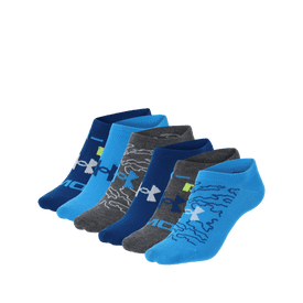 Calcetin-Under-Armour-Fitness-Essential-Invisible-6-Pack-Niño