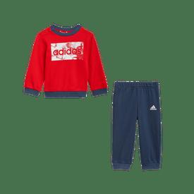 Conjunto-Deportivo-adidas-Infantiles-GN3950-Rojo